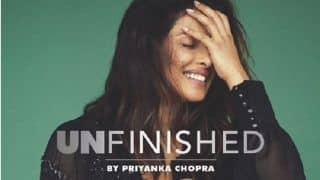 Priyanka Chopra Sends Out a Strong Message As She Shares The Cover of Her Memoir - Unfinished