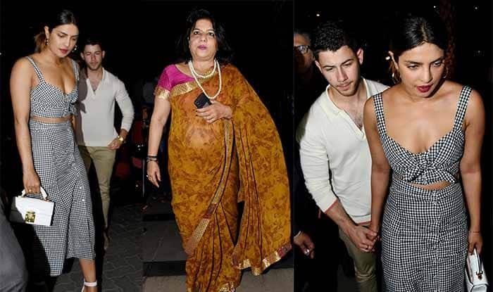 Priyanka Chopra, Nick Jonas walk hand-in-hand for dinner date