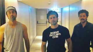 IIFA Awards 2018: Ranbir Kapoor, Varun Dhawan, Arjun Kapoor Strike a Pose Together; See Pic