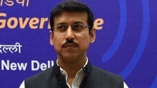 Funds For 2020 Tokyo Olympics Will be Distributed With Surgical Precision: Sports Minister Rajyavardhan Singh Rathore