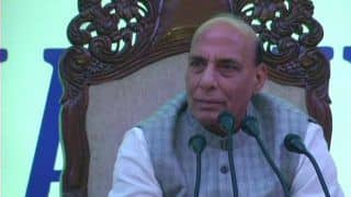J-K: Rajnath in Srinagar to Meet Governor; Separatists Call For Lal Chowk March