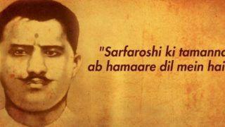 Ram Prasad Bismil Birthday: Twitterati Pays Tribute to Indian Revolutionary on his 121st Birth Anniversary