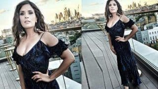 Richa Chadha Looks Hot in Black Shimmery Dress, Check Her Stunning Pictures Here