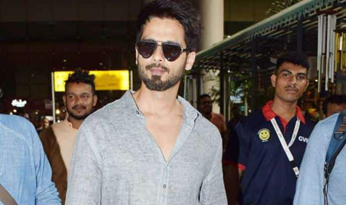 Shahid Kapoor Reaches Mumbai After Completing Batti Gul Meter Chalu Shoot in Dehradun; See Pictures