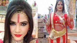 Bhojpuri Item Queen Seema Singh's Spiritual Baby Doll Radhe Maa Avatar is Breaking The Internet