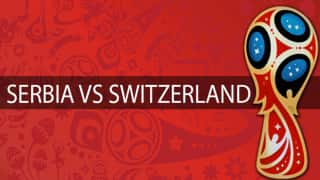 FIFA World Cup: Serbia vs Switzerland, Live Scorecard And Latest Match Stats