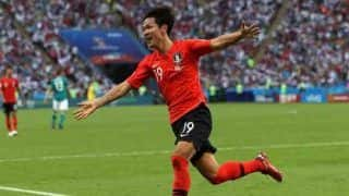 FIFA 2018: दक्षिण कोरिया ने 2-0 से हासिल की जीत, जर्मनी टूर्नामेंट से बाहर