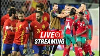 Spain vs Morocco FIFA World Cup 2018 Match 36 Live Streaming: When And Where To Watch on TV (IST)