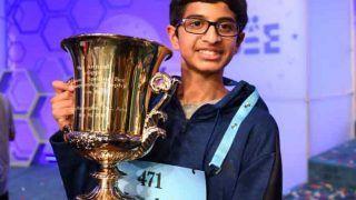 इस शब्द की सही स्पेलिंग बताकर भारतीय लड़के ने जीता 'नेशनल स्पेलिंग बी' का खिताब
