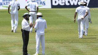 WIvSL: गेंद बदलने से नाराज हुए श्रीलंकाई खिलाड़ी, मैदान पर दो घंटे तक चला ड्रामा