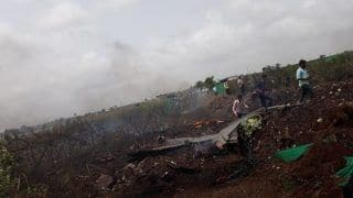 Sukhoi Su-30 Fighter Jet Crashes in Nashik, no Casualty Reported