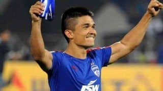 India Football Captain Sunil Chhetri Adjudged 'Best Sportsperson' by Calcutta Sports Journalists' Club