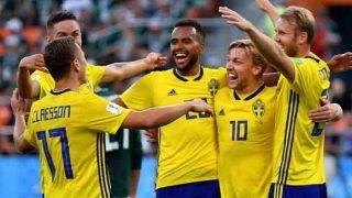 FIFA2018 : नॉकआउट में पहुंचा स्वीडन, मेक्सिको को 3-0 से हराया