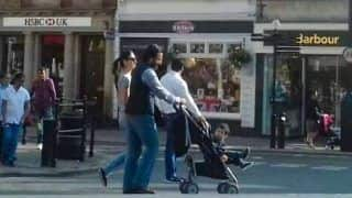 Taimur Ali Khan Takes a Stroll With Kareena Kapoor Khan and Saif Ali Khan In London - See Pic