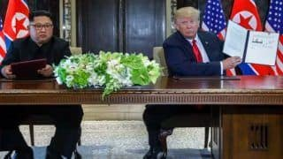 Donald Trump-Kim Jong Un's Historic Summit Ends With Denuclearisation And Security Agreement - Read The Full Text of The Joint Document Here