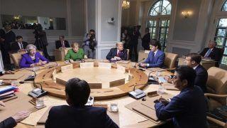 यूएस प्रेसिडेंट-कनाडा पीएम के बीच तनाव, सम्मेलन छोड़कर ट्रंप सिंगापुर रवाना