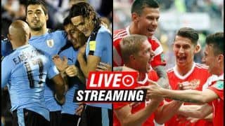 Uruguay vs Russia FIFA World Cup 2018 Match 34 Live Streaming: When And Where To Watch on TV (IST)