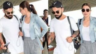 Virat Kohli and Anushka Sharma Give Us Couple Goals in White T-shirts and Sneakers