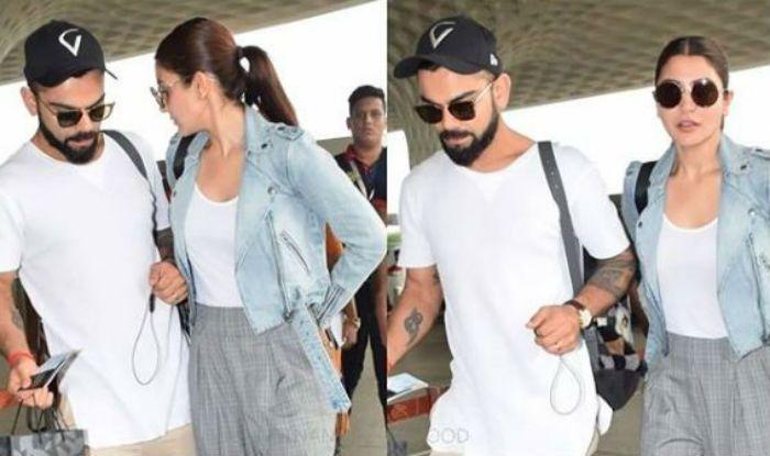 Virat Kohli And Anushka Sharma Give Us Couple Goals In White
