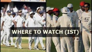 India vs Afghanistan One-Off Test Live Streaming (IST): When And Where to Watch (IST)