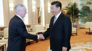 China Would Not Create Chaos in World But Won't Give up Even One Inch of Territory: President Xi Jinping to James Mattis