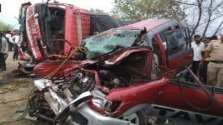 Maharashtra: Car-Truck Collision in Yavatmal, 10 Killed