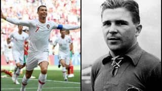 Portugal vs Morocco FIFA World Cup 2018: Cristiano Ronaldo Scores 85th Goal, Pips Hungary's Ferenc Puskas to Become Europe's All-Time Top International Scorer
