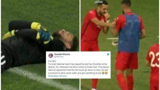 Tunisian Goalkeeper Mouez Hassen Fakes 'Injury' To Help Teammates Break Ramzan Fast