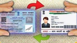 Linking Aadhaar-PAN Compulsory For Tax-Filers, to be Done by Mar 31: CBDT