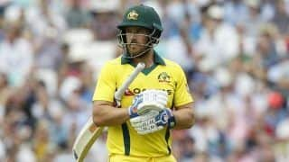 Big Advantage to Know What it Takes to Win World Cup: Aaron Finch