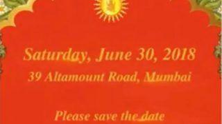Akash Ambani, Shloka Mehta's Engagement Invitation: Check Out Mukesh Ambani's Son's Engagement Invitation Video