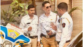 अक्षय कुमार ने संभाली नई जिम्मेदारी, ट्रैफिक पुलिस की वर्दी में दिखे