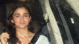 Alia Bhatt, Parineeti Chopra Spotted at Priyanka Chopra's Residence to Meet Nick Jonas, Check Out Pics
