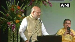 BJP President Amit Shah Holds Congress Responsible For Partition And Censoring Vande Mataram