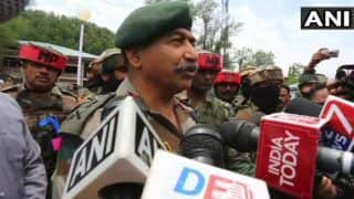 250-275 Active Militants Present in Kashmir, 30 More Ready to Sneak Into The Valley: Indian Army