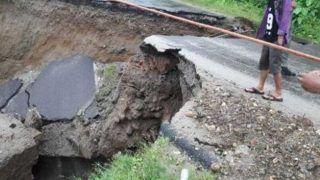 अरुणाचल में भारी भूस्खलन से तीन जिलों का संपर्क टूटा