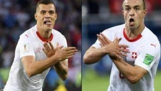 FIFA World Cup 2018: Swiss Trio Xherdan Shaqiri, Granit Xhaka and Stephan Lichtsteiner Fined $25,000 by FIFA Over
