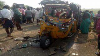 यूपी के जौनपुर में ट्रक ने टेंपो को रौंदा, छह लोगों की मौत, 6 गंभीर