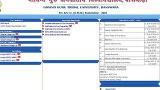 BSTC allotment result 2018: आज जारी हो सकती है पहली लिस्ट, bstcggtu2018.com पर जाकर करें चेक