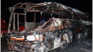 महाराष्ट्र : बेकाबू मिनी बस खड़े ट्रक से भिड़ी, दर्दनाक हादसे में 10 लोगों की मौत