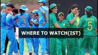 India W vs Pakistan W Women's T20I Asia Cup 2018 Live Streaming: When And Where to Watch on TV (IST)