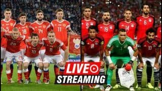 Russia vs Egypt FIFA World Cup 2018 Match 17 Live Streaming: When And Where To Watch on TV (IST)