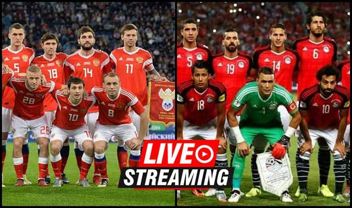 Russia Vs Egypt Fifa World Cup 2018 Match 17 Live Streaming When And Where To Watch On Tv Ist India Com