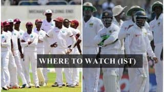 West Indies vs Sri Lanka 1st Test Live Streaming: Where and When To Watch on TV (IST)