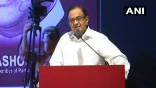 Indian Economy is Like a Car Whose Tyres Are Punctured, Says P Chidambaram