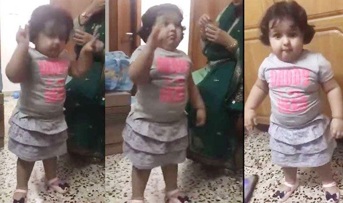 Image result for इस बच्ची ने दिया डब्बू अंकल के डांस को टक्कर