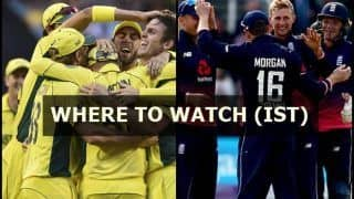 Australia Tour of England 2018 1st ODI Live Streaming: When And Where to Watch on TV (IST)
