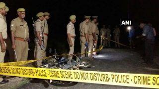 यूपी: एनकाउंटर कर पुलिस ने पकड़े 2 इनामी बदमाश, गोली लगने से एक सिपाही घायल