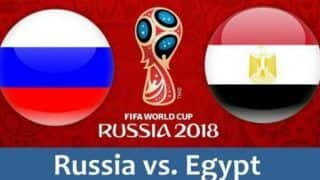 Russia vs Egypt, FIFA World Cup, Live Scorecard, Latest Match Stats and Goal Updates