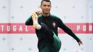FIFA World Cup 2018: Watch Portugal's First World Cup Training in Russia Marked With Rains And Low Temperatures, Ronaldo Participates